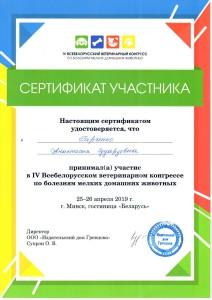 Сертификаты Блинкова-3
