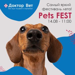 Pets Fest в разрабюотке квадрат end
